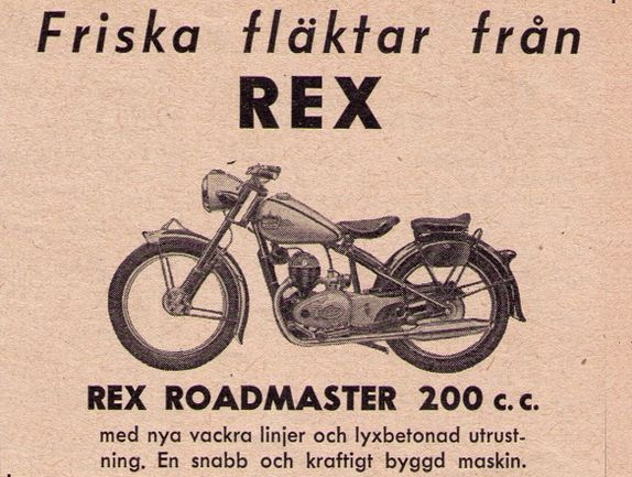 Information om Rex Roadmaster