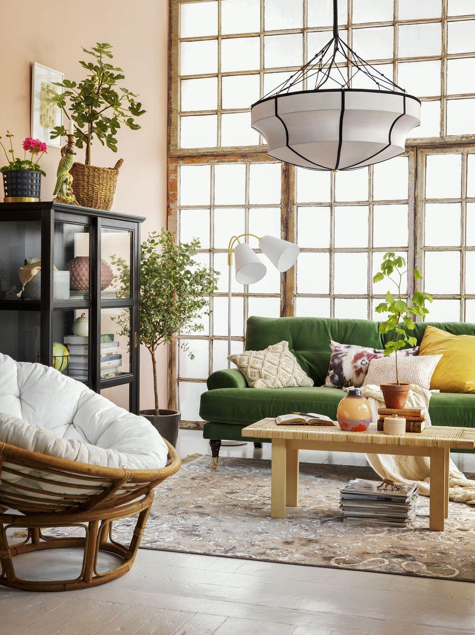2 olika sätt att styla ditt vardagsrum i höst – Hus & Hem