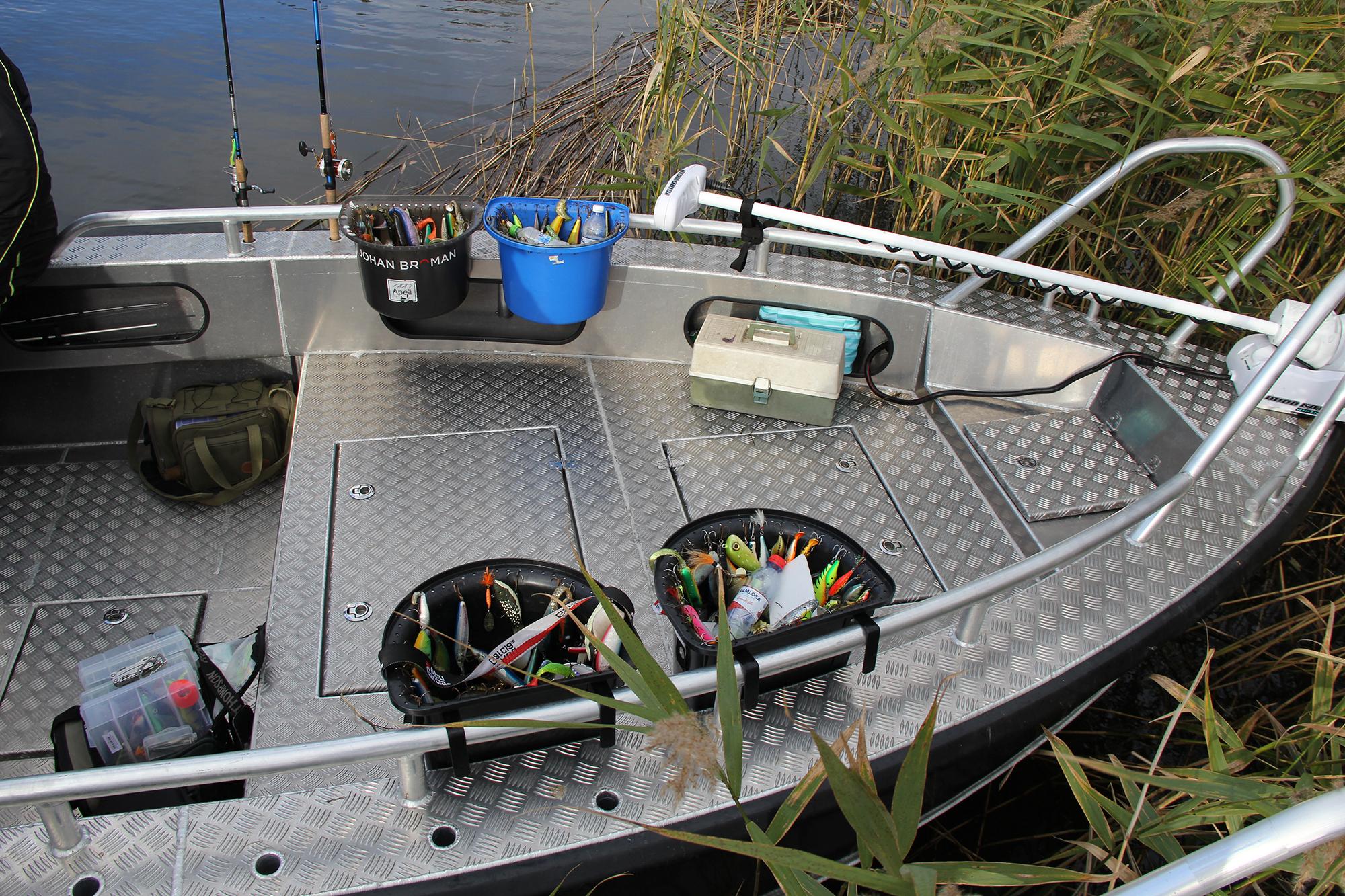 Bra fiskebåt aluminium