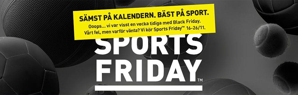 Lång Black Friday för Intersport 67575b1929