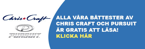 Tester Chris Craft och Persuit