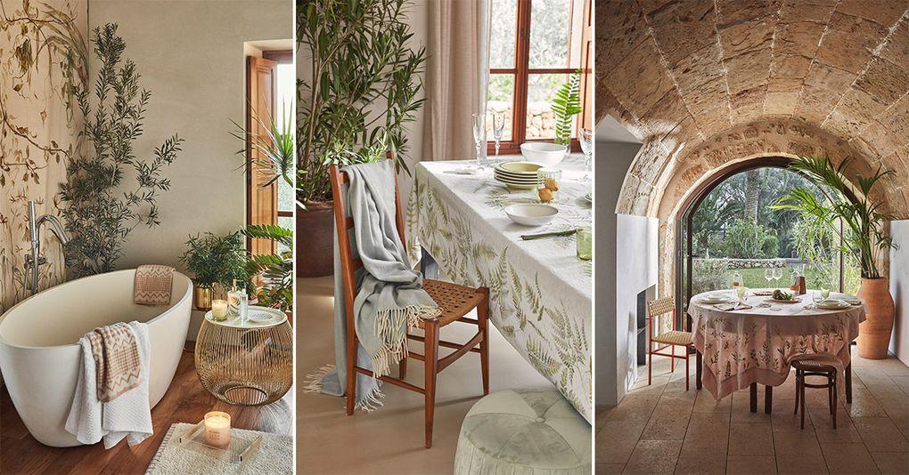 Zara Home visar upp sin kollektion f̦r v̴r och sommar 2018 РHus & Hem