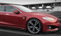 Italiensk version av Tesla Model S Shooting Brake