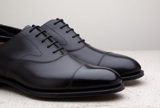 6 x Svarta Oxfords