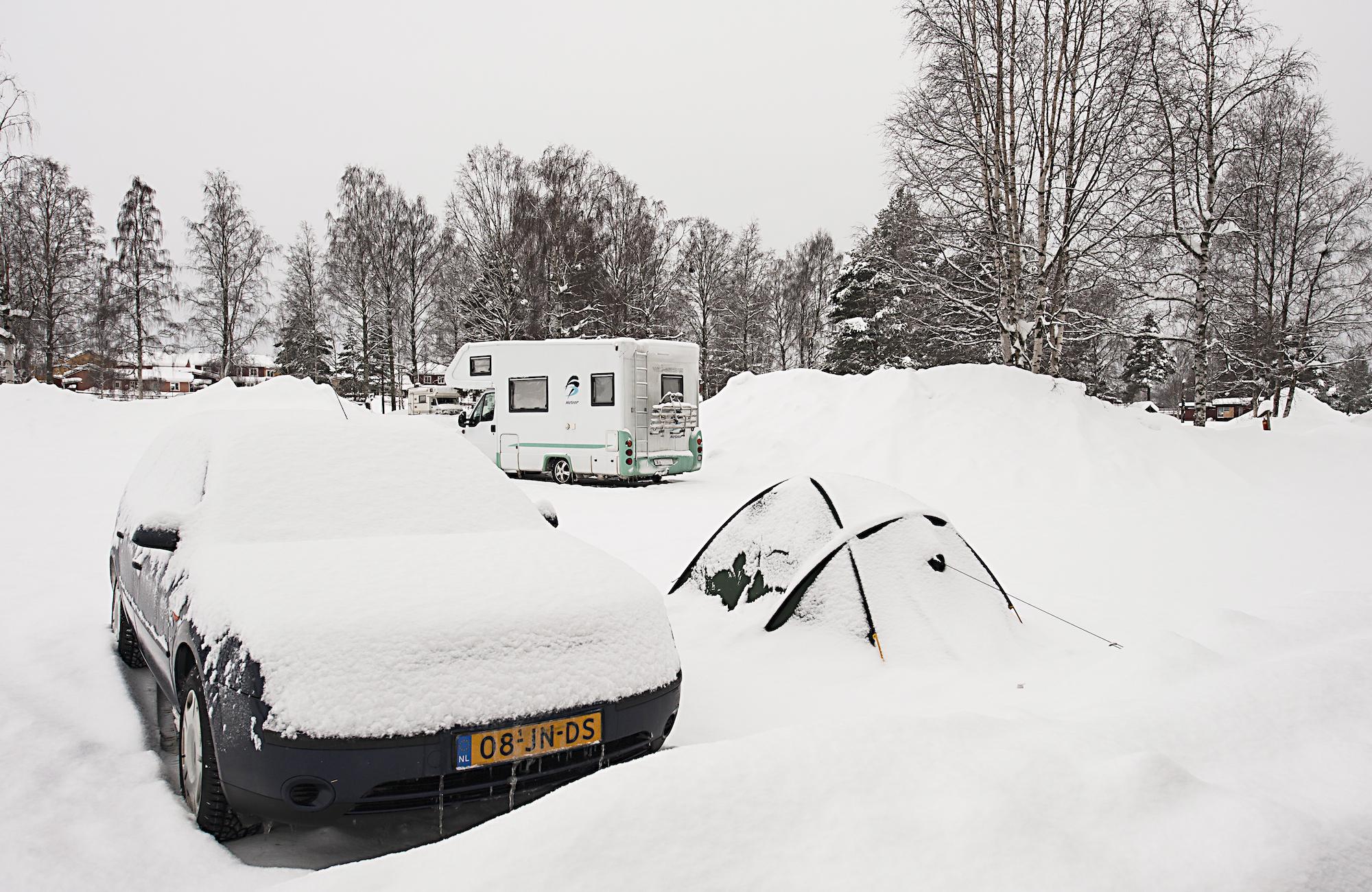 bästa husvagnen för vintercamping