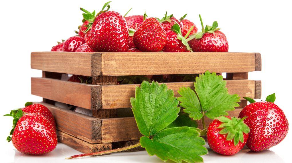jordgubbar bra för magen