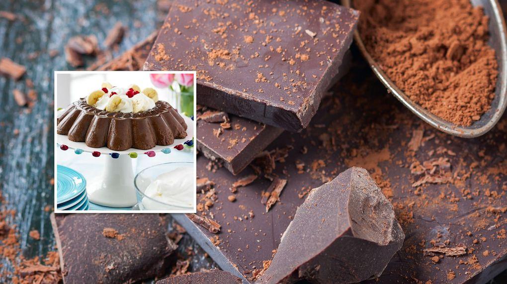 göra egen chokladpudding