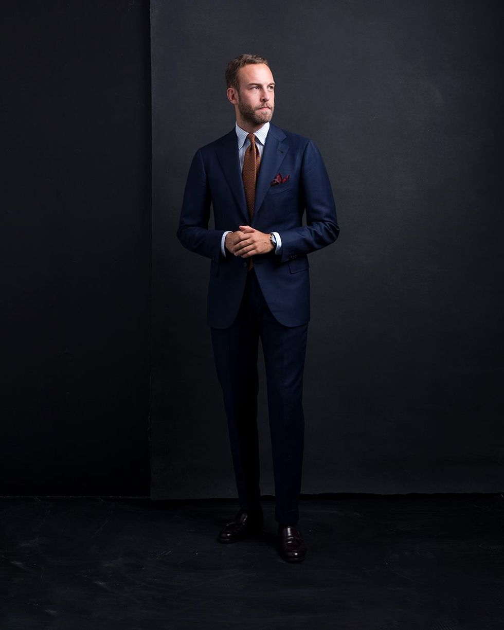 Måttsydd kostym från Cesare Attolini. En personlig favorit i garderoben. 4912ba0d3bd85