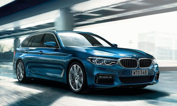 BMW 520d – britternas favorit som dragbil