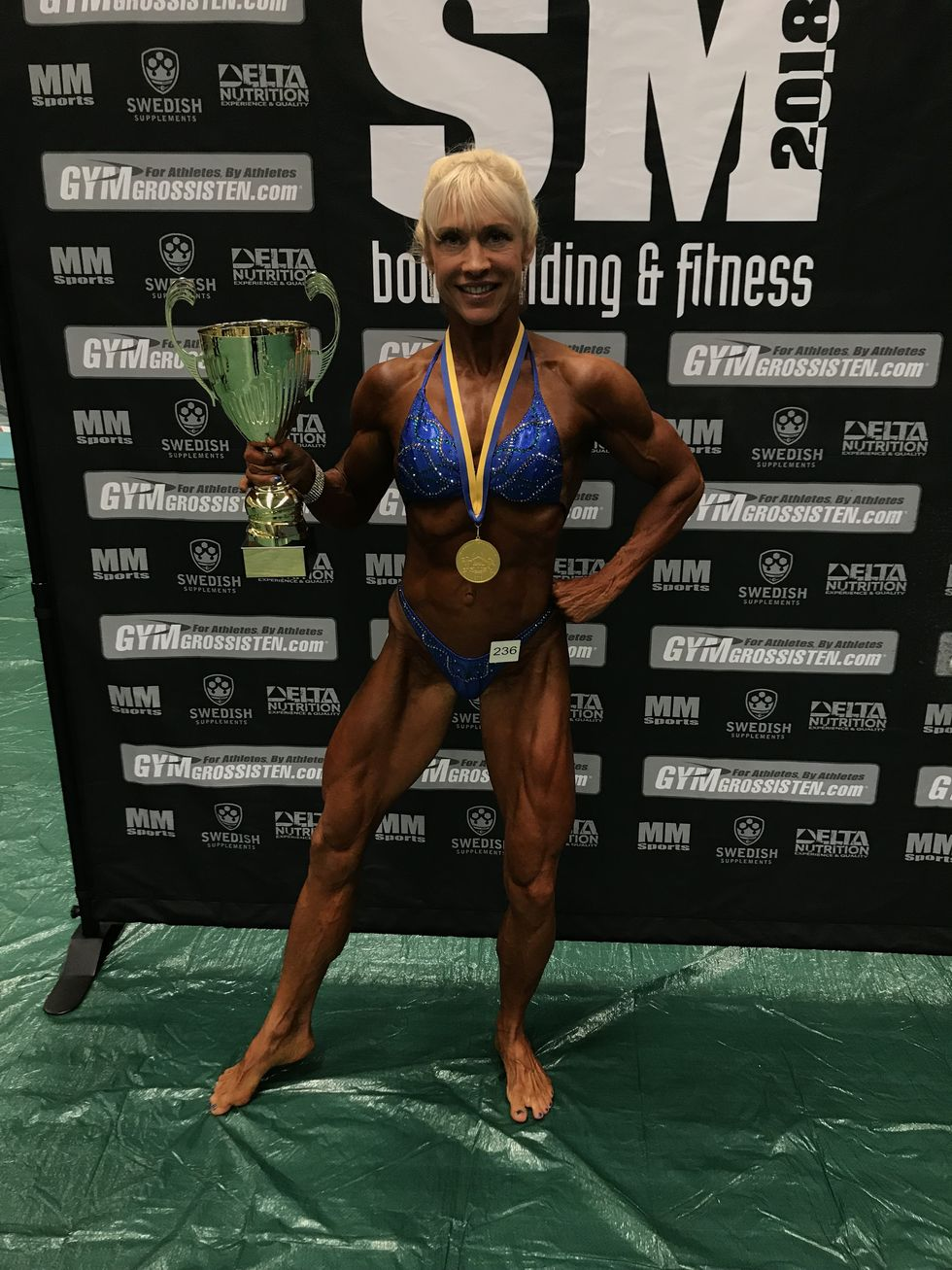 Josefine Galiamoutsa, vinnare Womens Physique