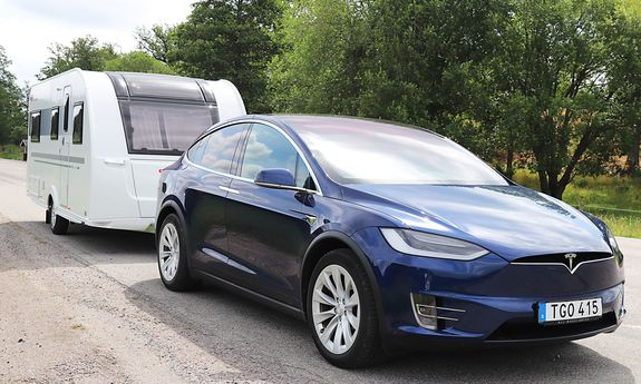 Tesla Model X 100: Elbil med drag