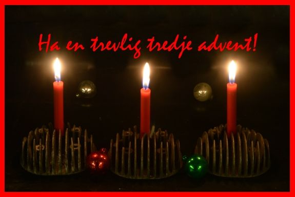 Tredje advent 2018