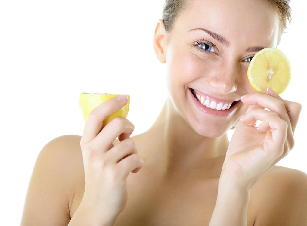 citron för huden