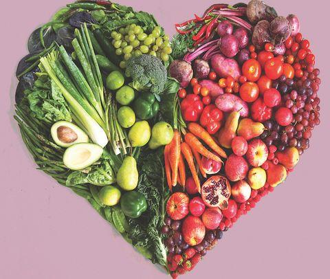 mat för hjärtat