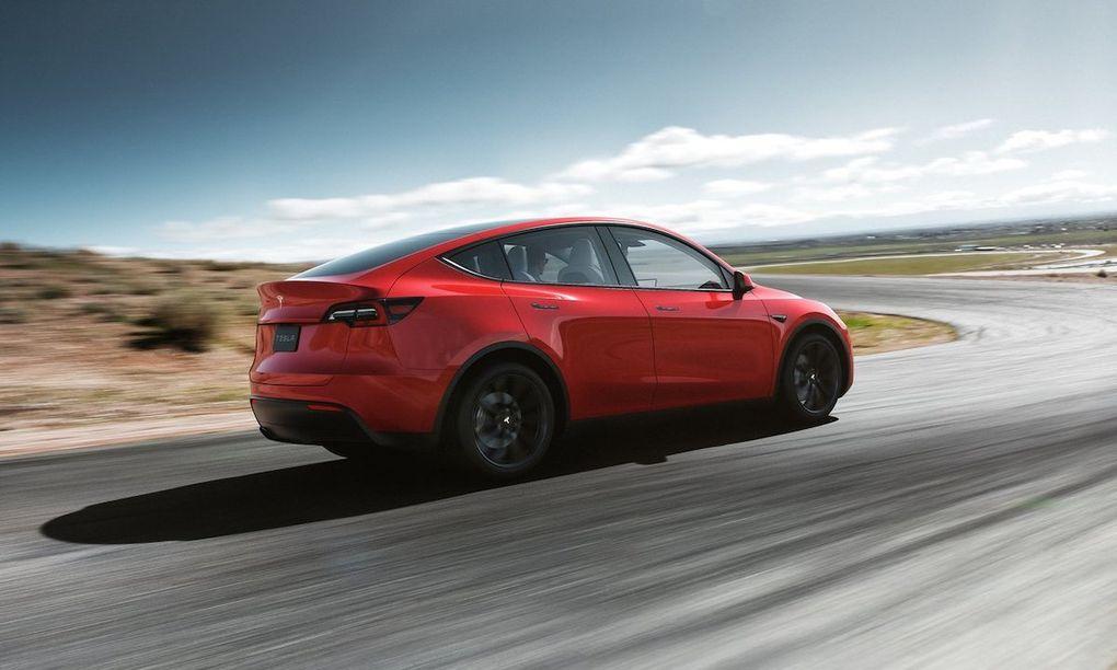 Tesla har nu byggt en miljon bilar Tut i luren!