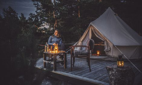 Glamping i Sverige – 6 favoriter