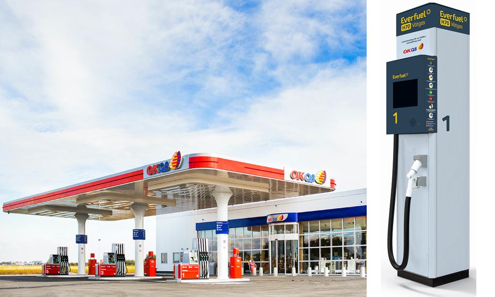 OKQ8 satsar på vätgas – bygger 10 stationer