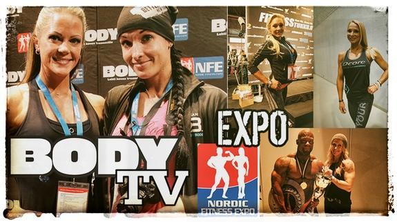 BODY TV på Nordic Fitness Expo!