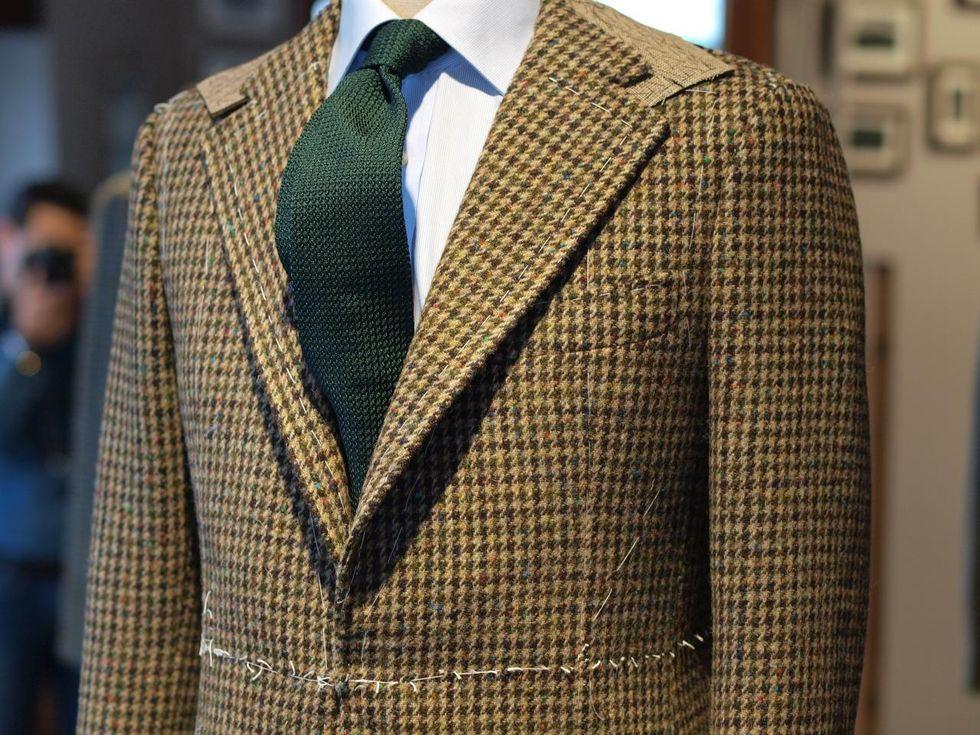 par engelsk kostym