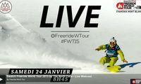 Live: Freeride World Tour i Chamonix