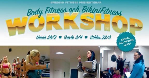 Workshopturné i Fitness under våren