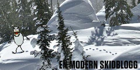 En modern skidblogg