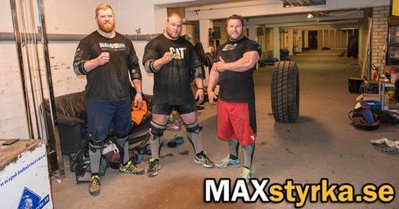 3 svenskar till World's Strongest Man!
