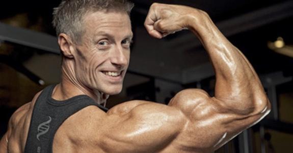 EM-guld i CBB till Bicepsmannen!