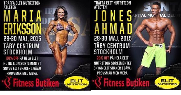 Fitnessbutiken öppnar i Täby