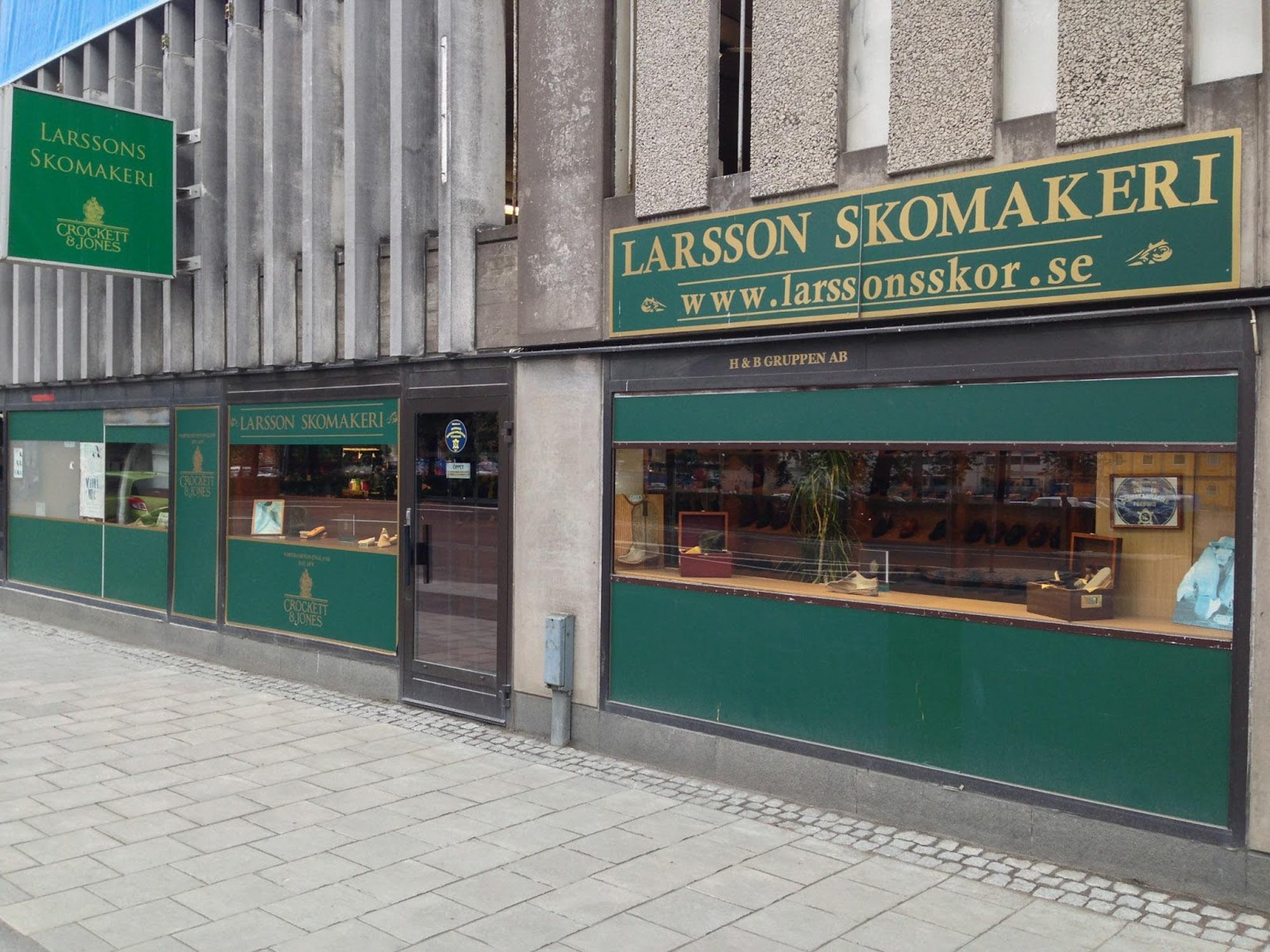 skomakare stockholm priser