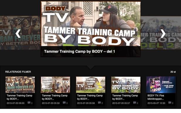 Ny filmhörna på webben: BODY TV