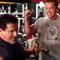 Arnold och Lou tränade tillsammans