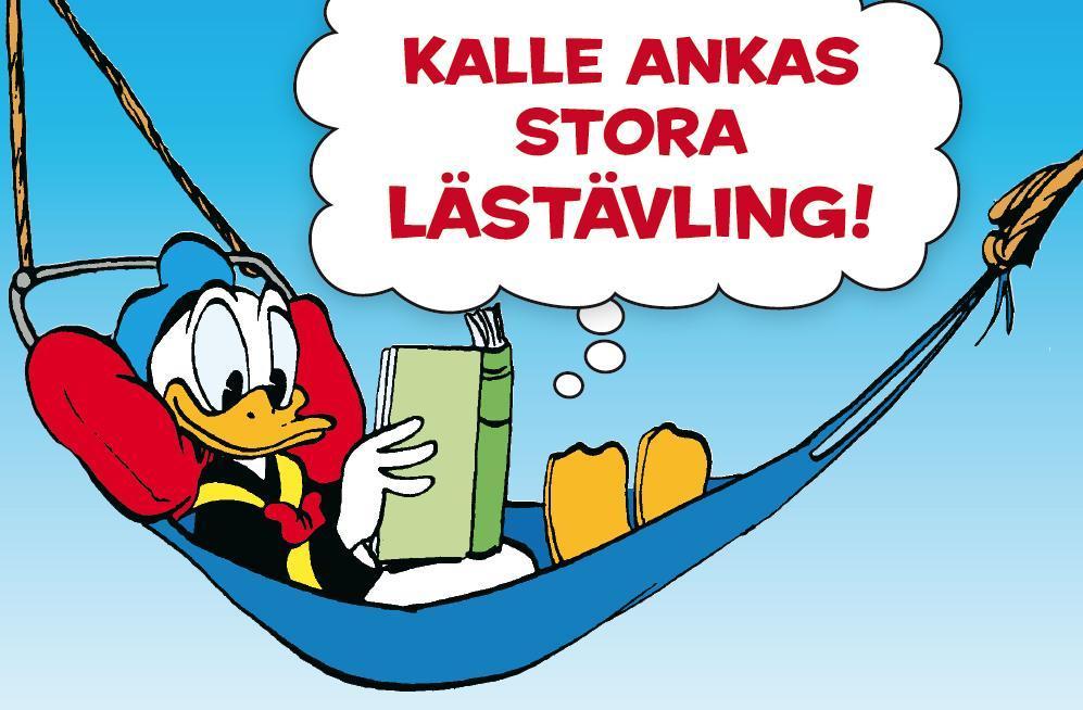 Var med i Kalle Ankas stora lästävling!