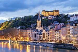 24 timmar i Lyon – romantik vid floden Saone