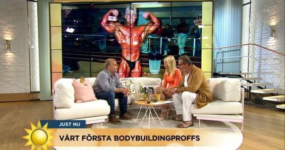 Mats Kardell på TV4 Nyhetsmorgon