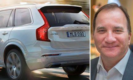 Statsministern får inte åka Volvo XC90 – Säpo säger nej