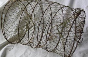 Fiskenät och ålryssjor