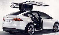 Tesla Model X avslöjad – här är de första officiella bilderna
