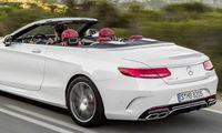 """Mercedes S-klass Cabriolet ska vara """"bekvämast i världen"""""""