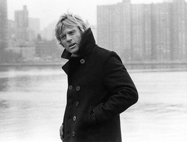 Robert redford i peacoat fr 229 n filmen three days of the condor