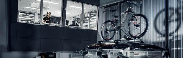 thule invigde nytt testcenter nyheter sportfack. Black Bedroom Furniture Sets. Home Design Ideas