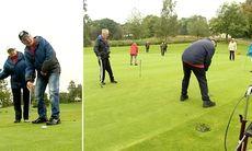 Här hjälps strokepatienter av golfen