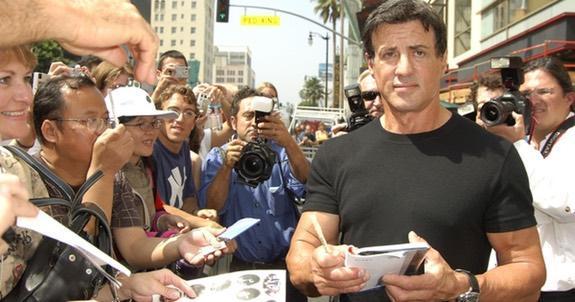 Stallone producerar träningsshow