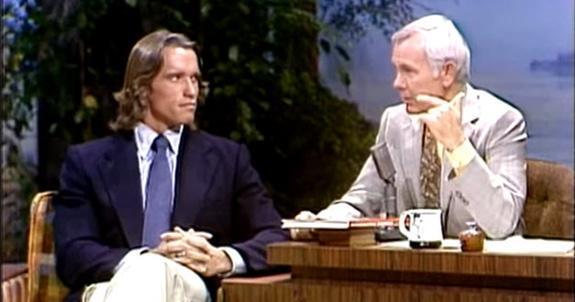 Arnolds långhåriga tv-debut