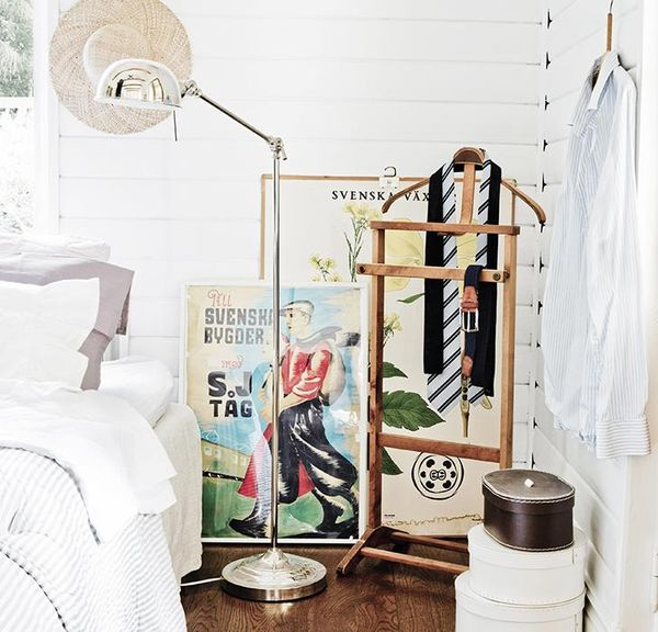 Så får du ett lantligt sovrum Hus& Hem