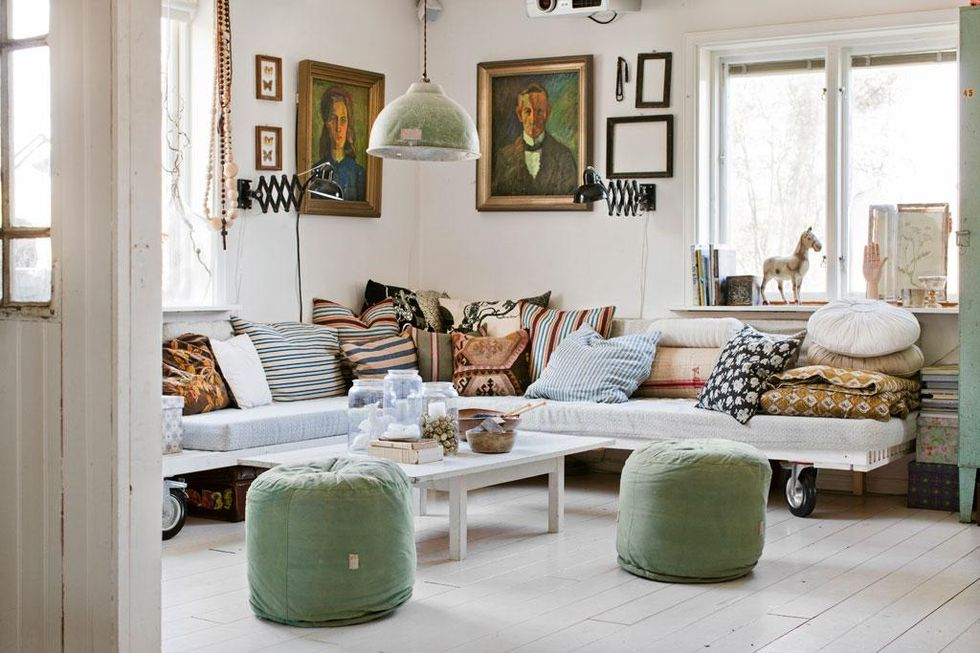 Upp t v ggarna hos johanna hus hem - Celebrities live small old stylish homes ...