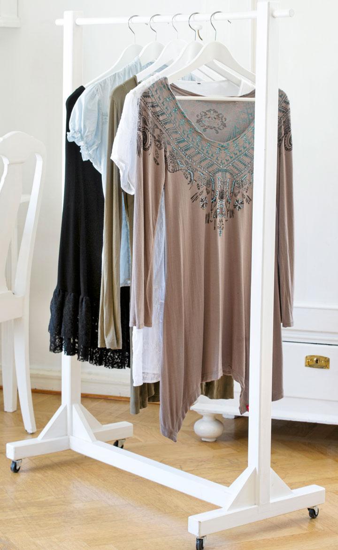 Bygg en rullande klädställning Hus& Hem