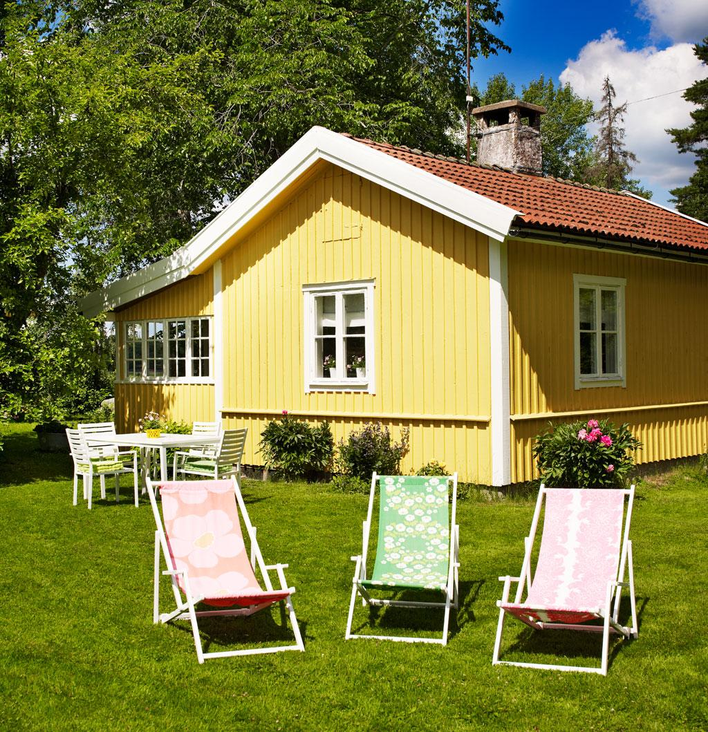 Retrostil i sanias sommarstuga – hus & hem