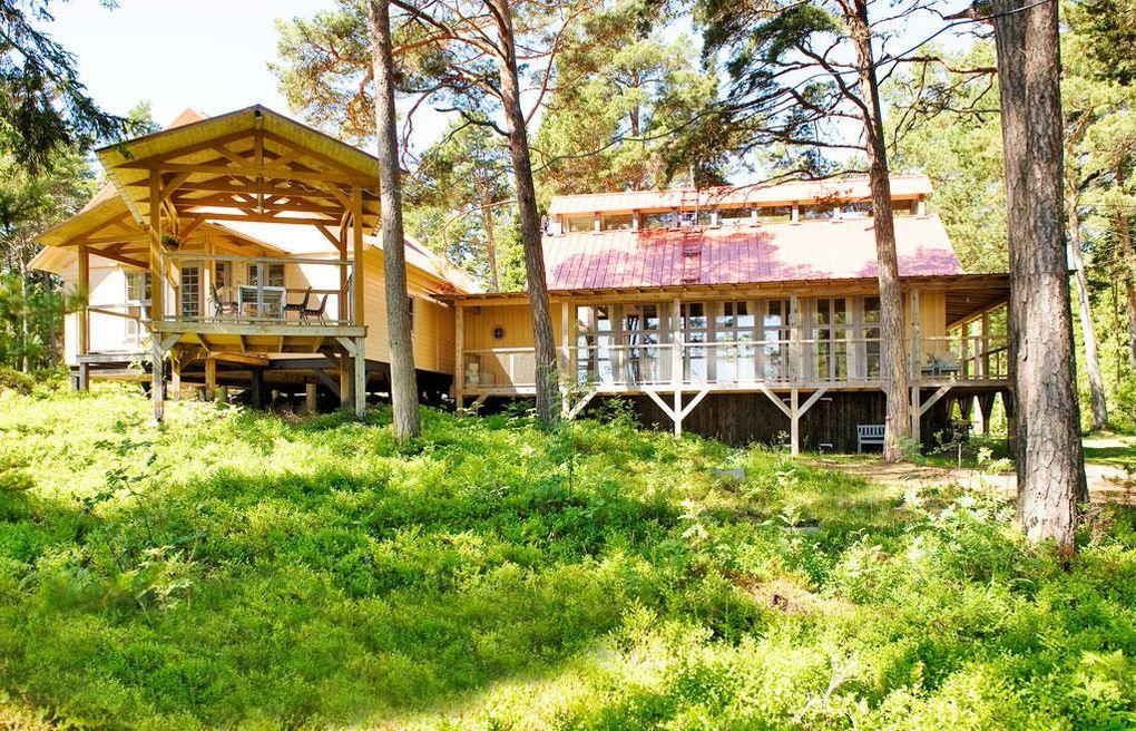 Ett fritidshus byggt på höjden Hus& Hem