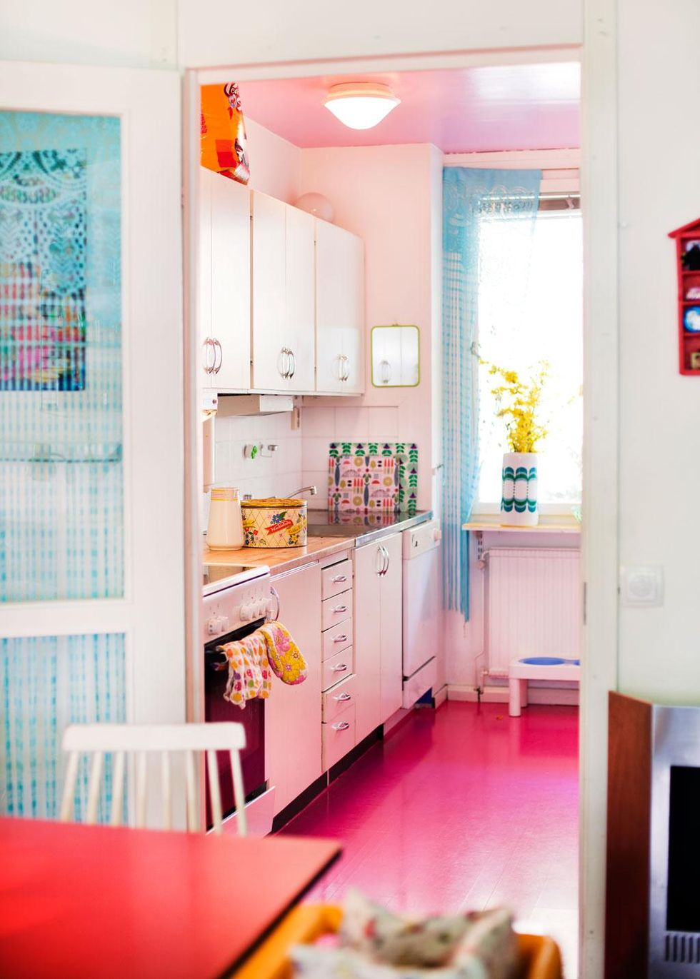 Lägenhet med feeling för färg – Hus & Hem